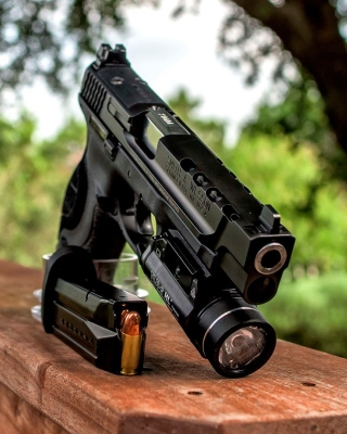 Smith and Wesson 9mm Wallpaper for iPhone 5S