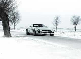 Mercedes SLS Picture for Android, iPhone and iPad