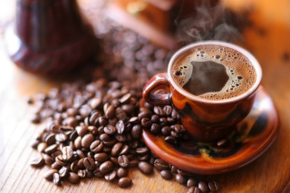 Free Taste Of Real Coffee Picture for Android, iPhone and iPad