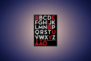 Alphabet Wallpaper for Android, iPhone and iPad