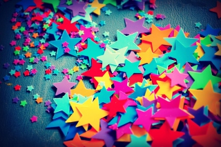 Colorful Stars Wallpaper for Android, iPhone and iPad