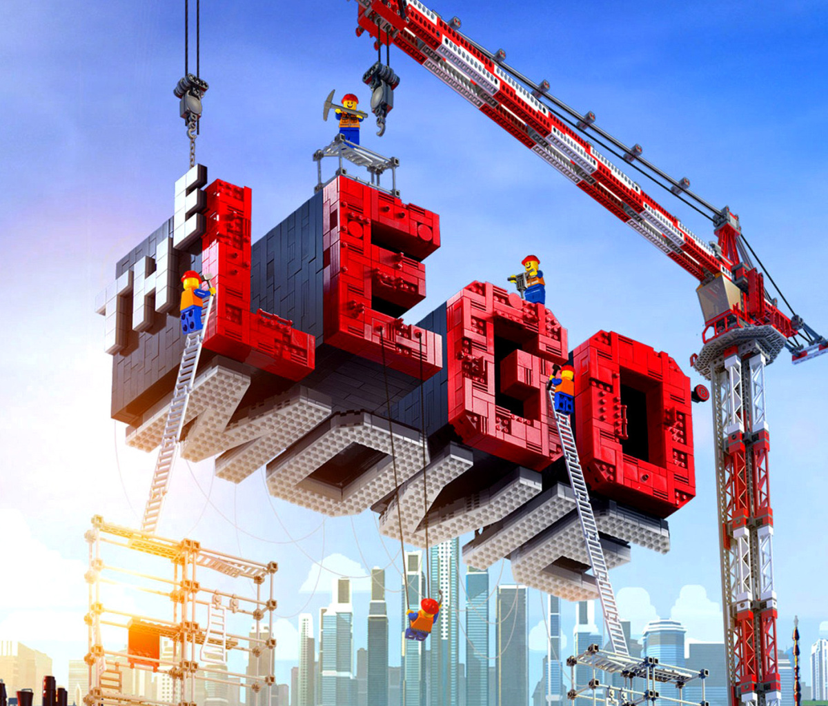 Screenshot №1 pro téma The Lego Movie 1200x1024