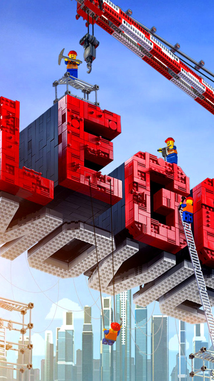 Screenshot №1 pro téma The Lego Movie 750x1334