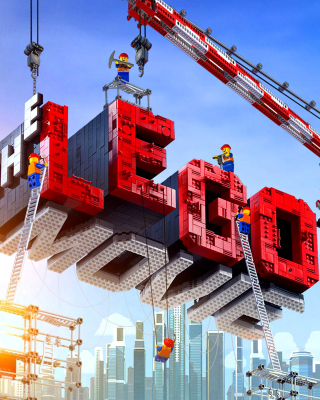 Картинка The Lego Movie на iPhone 6
