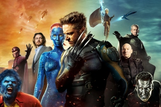 X Men Days Of Future Past Poster - Obrázkek zdarma pro Widescreen Desktop PC 1600x900