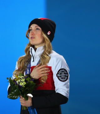 Justine Dufour-Lapointe Canada Picture for Nokia C-5 5MP
