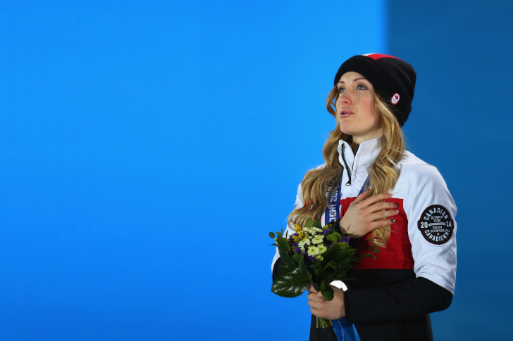 Justine Dufour-Lapointe Canada wallpaper