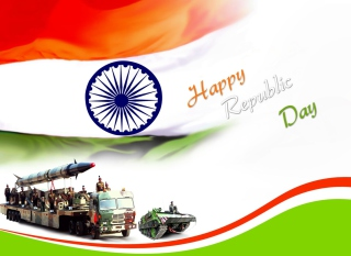 Happy Republic Day Background for Android, iPhone and iPad
