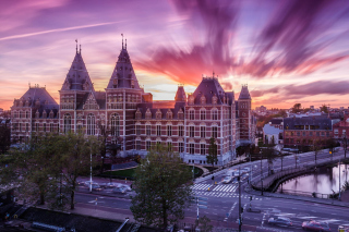 Amsterdam Central Station, Centraal Station Background for Android, iPhone and iPad