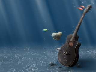 Underwater Guitar para Nokia Asha 201