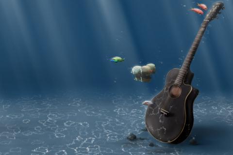 Underwater Guitar para Samsung S5367 Galaxy Y TV
