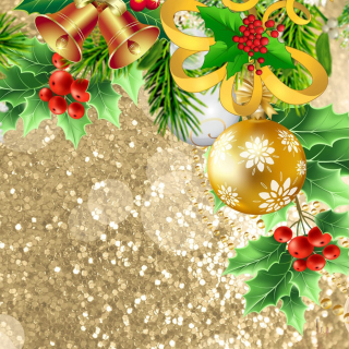 Christmas card decor - Fondos de pantalla gratis para iPad Air