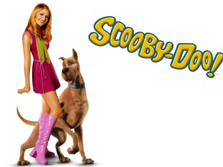 Screenshot №1 pro téma Sarah Michelle Gellar with Dog 320x240