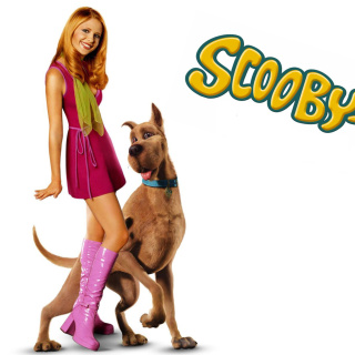 Screenshot №1 pro téma Sarah Michelle Gellar with Dog 320x320