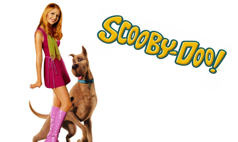 Screenshot №1 pro téma Sarah Michelle Gellar with Dog 800x480