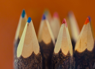Pencils Wallpaper for Android, iPhone and iPad