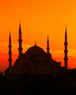 Free Sunset in Istanbul Picture for Nokia C7