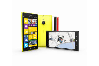 Free Nokia Lumia 1520 20MP Smartphone Picture for Android, iPhone and iPad