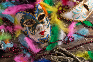 Carnevale di Venezia Background for Android, iPhone and iPad