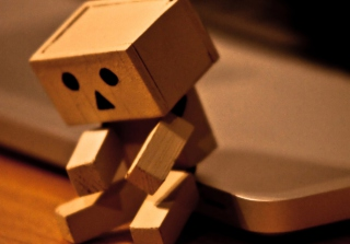 Sad Danbo Wallpaper for Android, iPhone and iPad