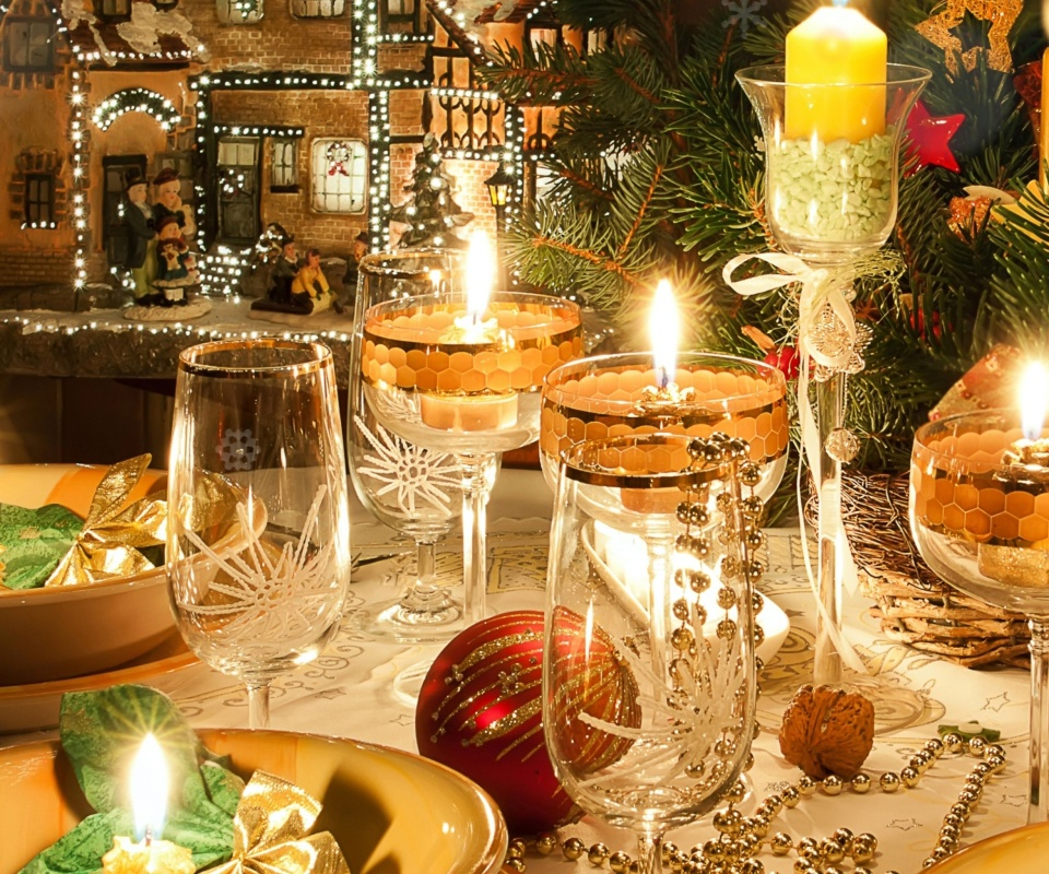 Screenshot №1 pro téma Rich New Year table 960x800