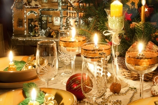 Rich New Year table Picture for Android, iPhone and iPad