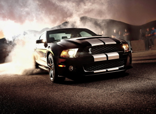 Ford Mustang Background for Android, iPhone and iPad