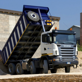 Free Scania Truck Picture for 208x208