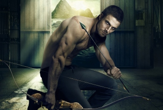 Oliver Queen Green Arrow Picture for Android, iPhone and iPad