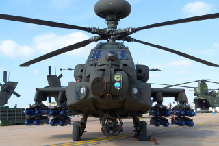 Free Mi 28 Military Helicopter Picture for Android, iPhone and iPad