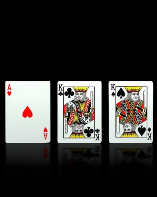 Poker Playing Cards sfondi gratuiti per Nokia Lumia 800