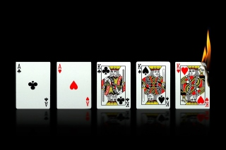 Poker Playing Cards Wallpaper for Android, iPhone and iPad