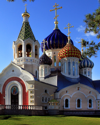 Free Orthodox Church Picture for iPhone 5