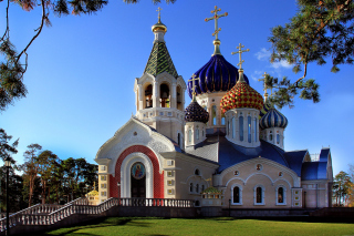 Orthodox Church Background for Android, iPhone and iPad