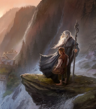 The Hobbit An Unexpected Journey - Gandalf Picture for iPhone 5