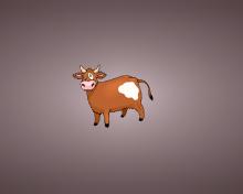 Funny Cow Illustration para 220x176