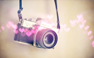 I Love My Camera Wallpaper for Android, iPhone and iPad