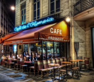 Paris Cafe Background for iPad mini 2