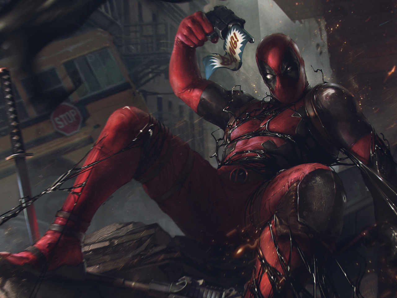 Screenshot №1 pro téma Deadpool Comics 1280x960