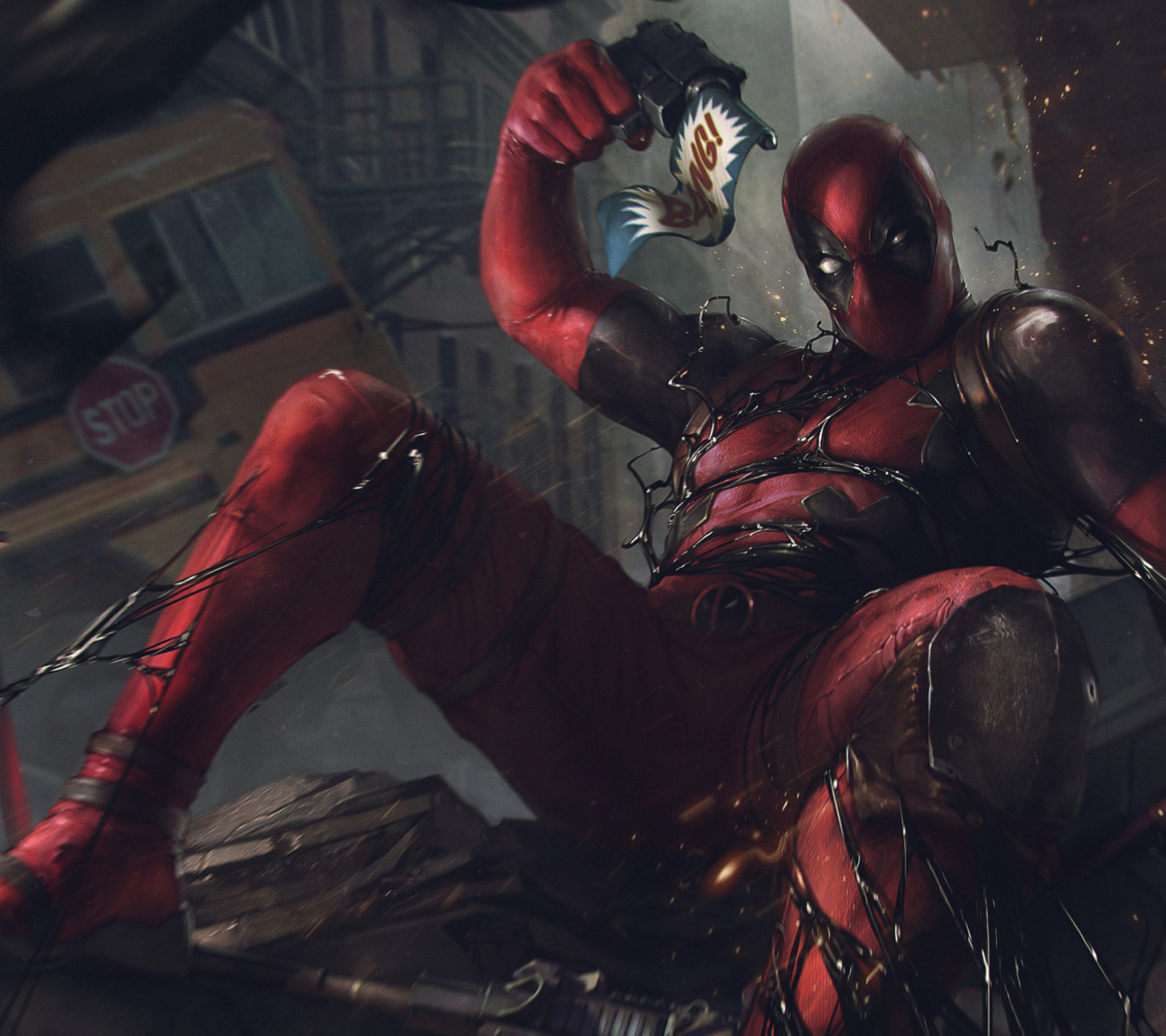 Screenshot №1 pro téma Deadpool Comics 1440x1280