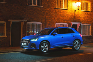 Audi Q3 35 Background for Samsung Galaxy Ace 4