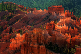Bryce Canyon National Park In Utah Background for Android, iPhone and iPad