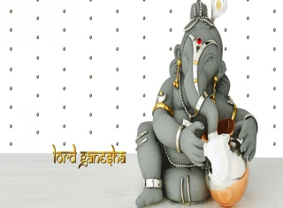 Free Lord Ganesha Picture for Desktop 1280x720 HDTV