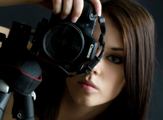 Girl Photographer sfondi gratuiti per 960x854