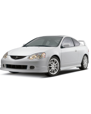Acura RSX Type S Wallpaper for 240x320
