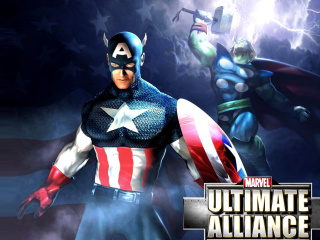 Screenshot №1 pro téma Marvel Ultimate Alliance 2 Hero 320x240
