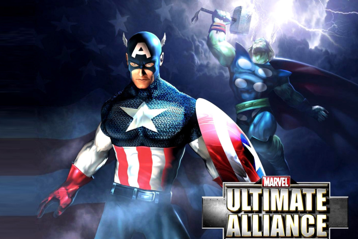Screenshot №1 pro téma Marvel Ultimate Alliance 2 Hero