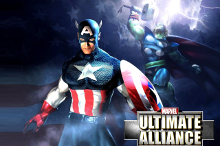 Kostenloses Marvel Ultimate Alliance 2 Hero Wallpaper für Android, iPhone und iPad