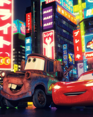 Cars The Movie - Obrázkek zdarma pro iPhone 5C