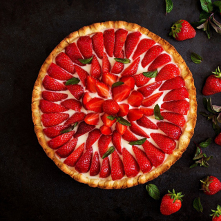 Strawberry pie - Fondos de pantalla gratis para 1024x1024